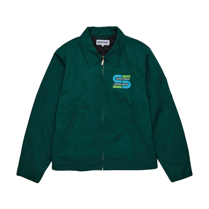 Metro Quilted Work Jacket (Green)