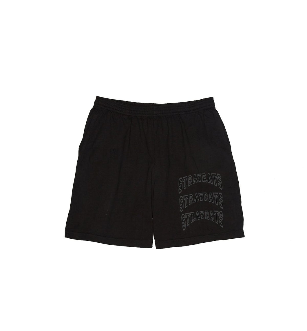 College Arch Jammer Shorts (Black)