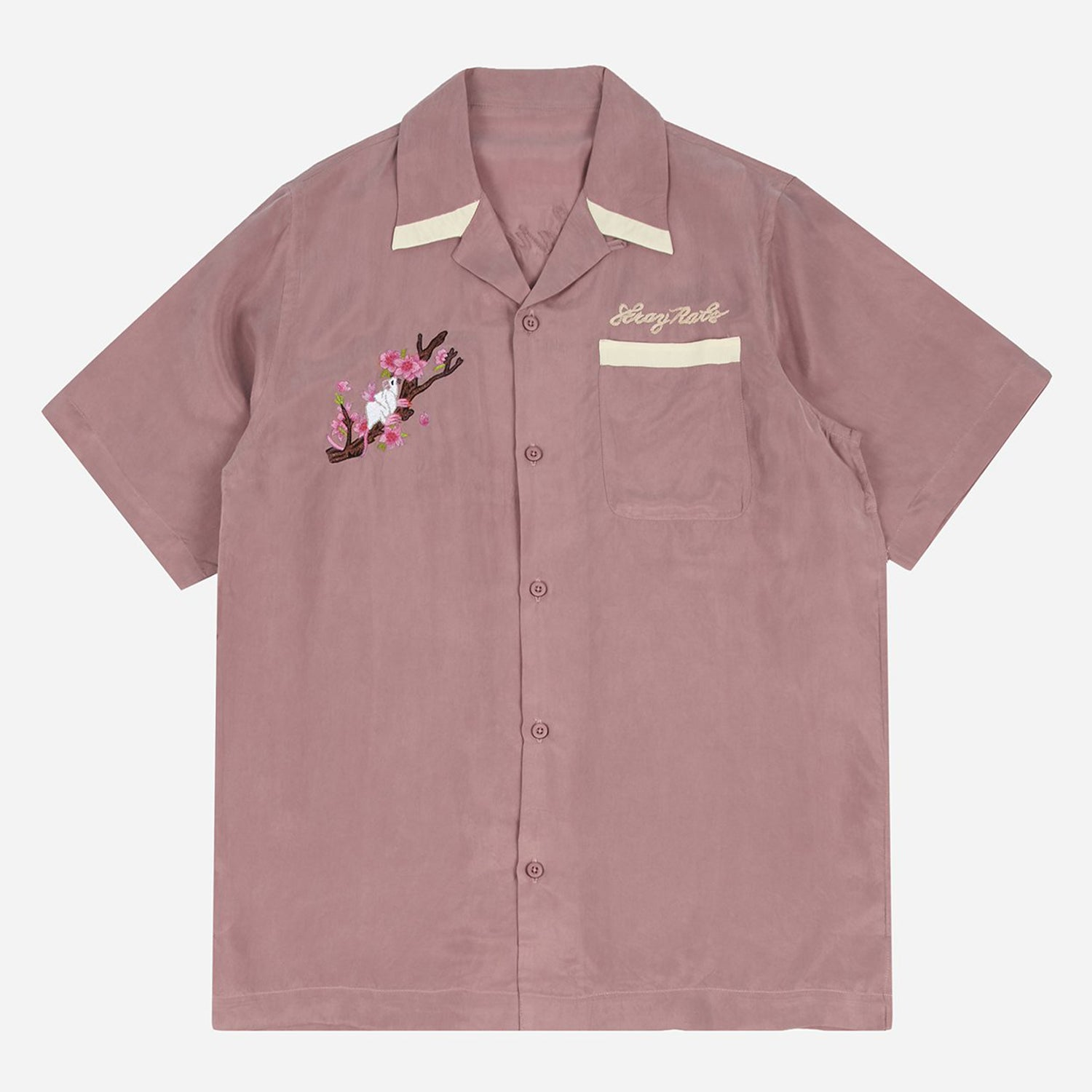 Camp Collar Shirt (Dusty Pink)