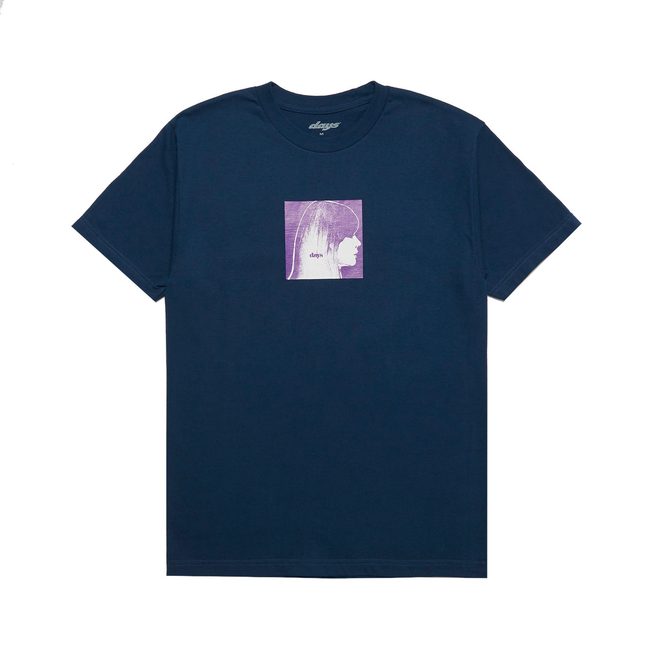 All Over Tee (Harbor Blue)