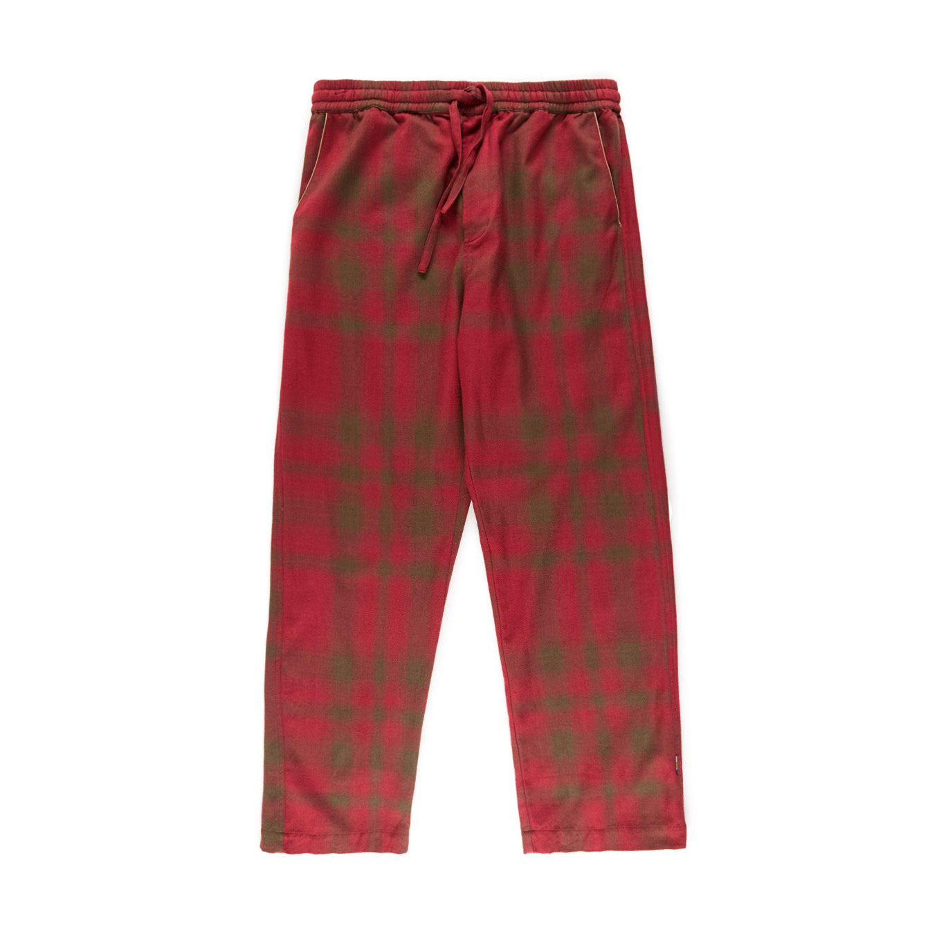 Piped Pyjama Trackpants (Lama Red/Red)