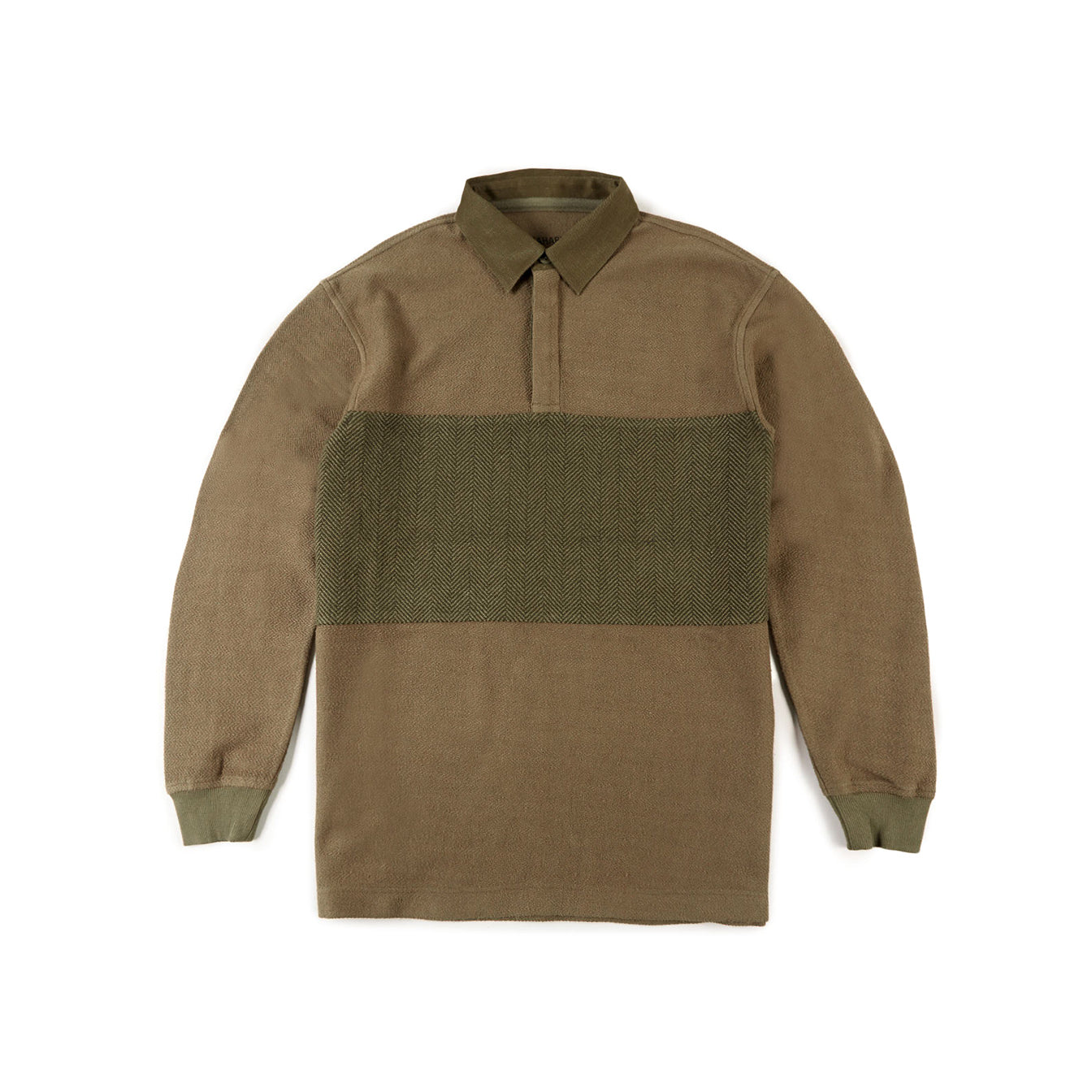 Organic Rugby Shirt (Maha Olive)