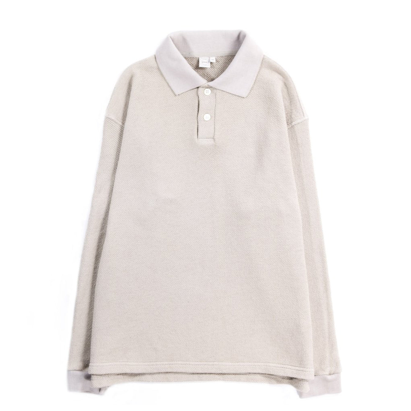 LS Polo Shirt (Stone)