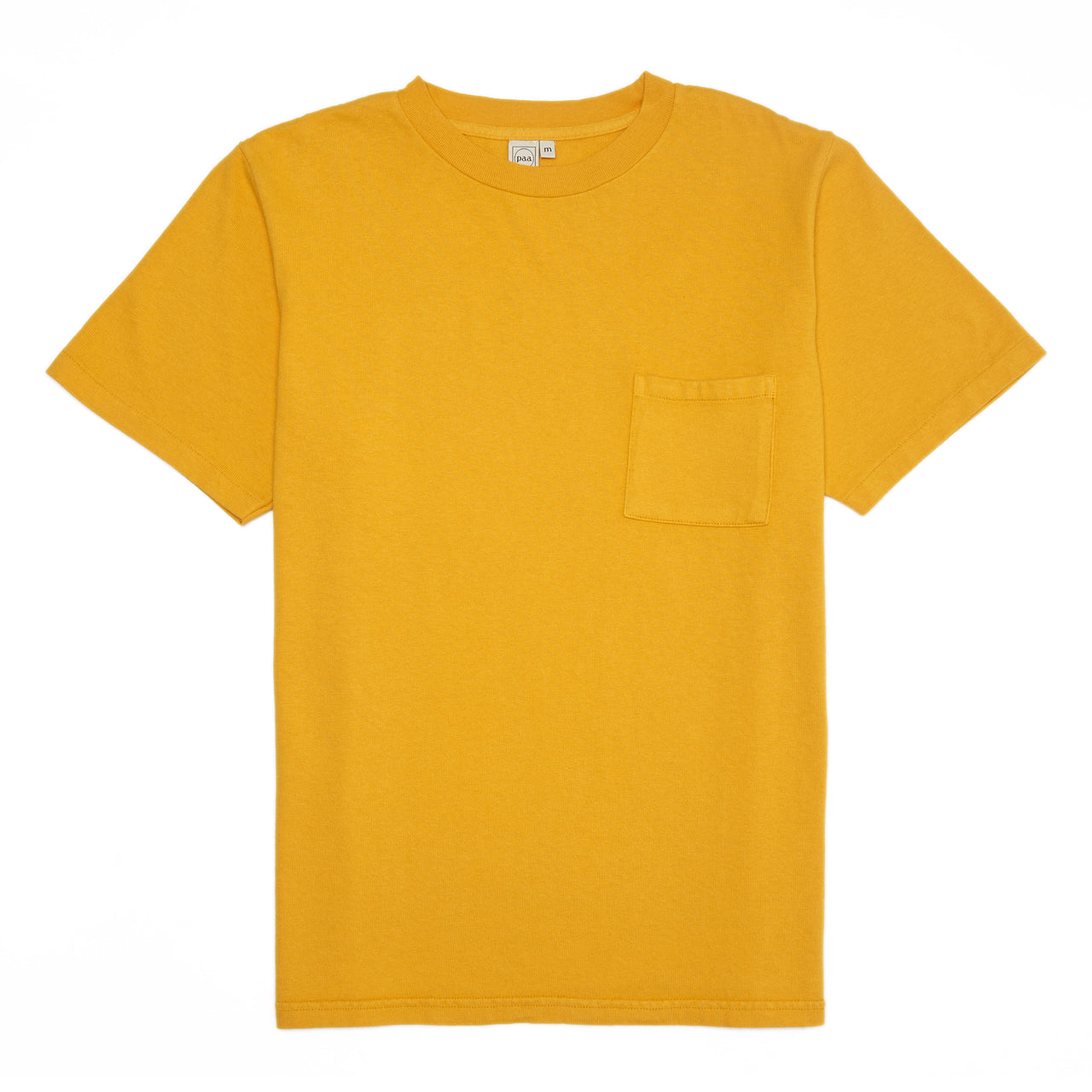 SS Pocket Tee - Golden Yellow