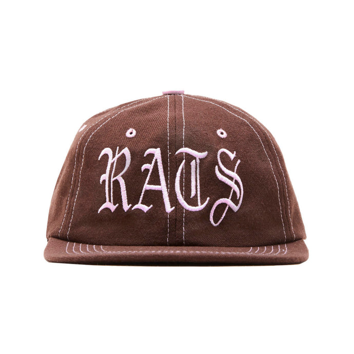 SRWI 6 Panel Hat (Brown)