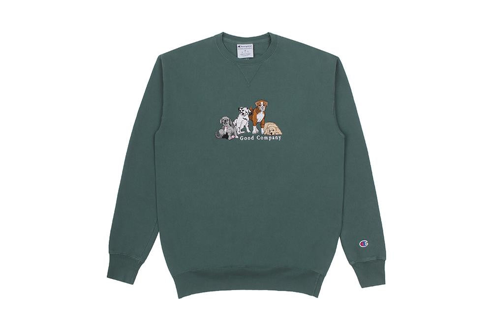 Good Boys Crewneck (Cactus)