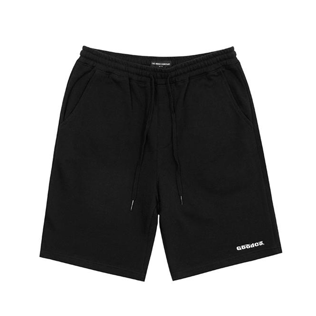 Thin Line Sweat Shorts (Black)