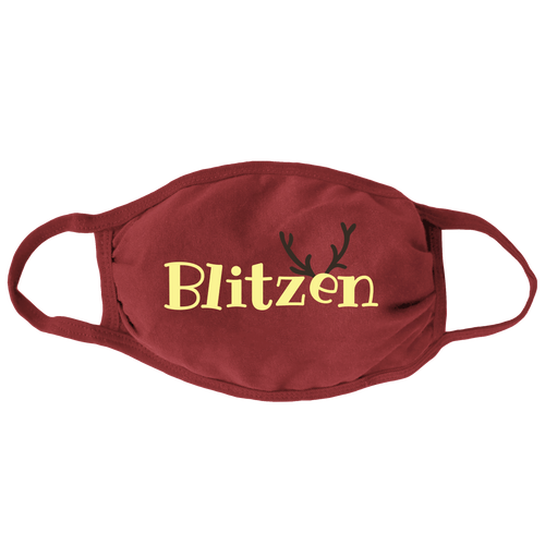 Blitzen Face Mask