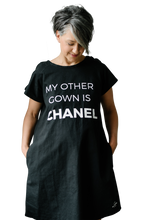 Load image into Gallery viewer, My Other Gown is Chanel (Black)