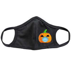 Pumpkin Kids Face Masks