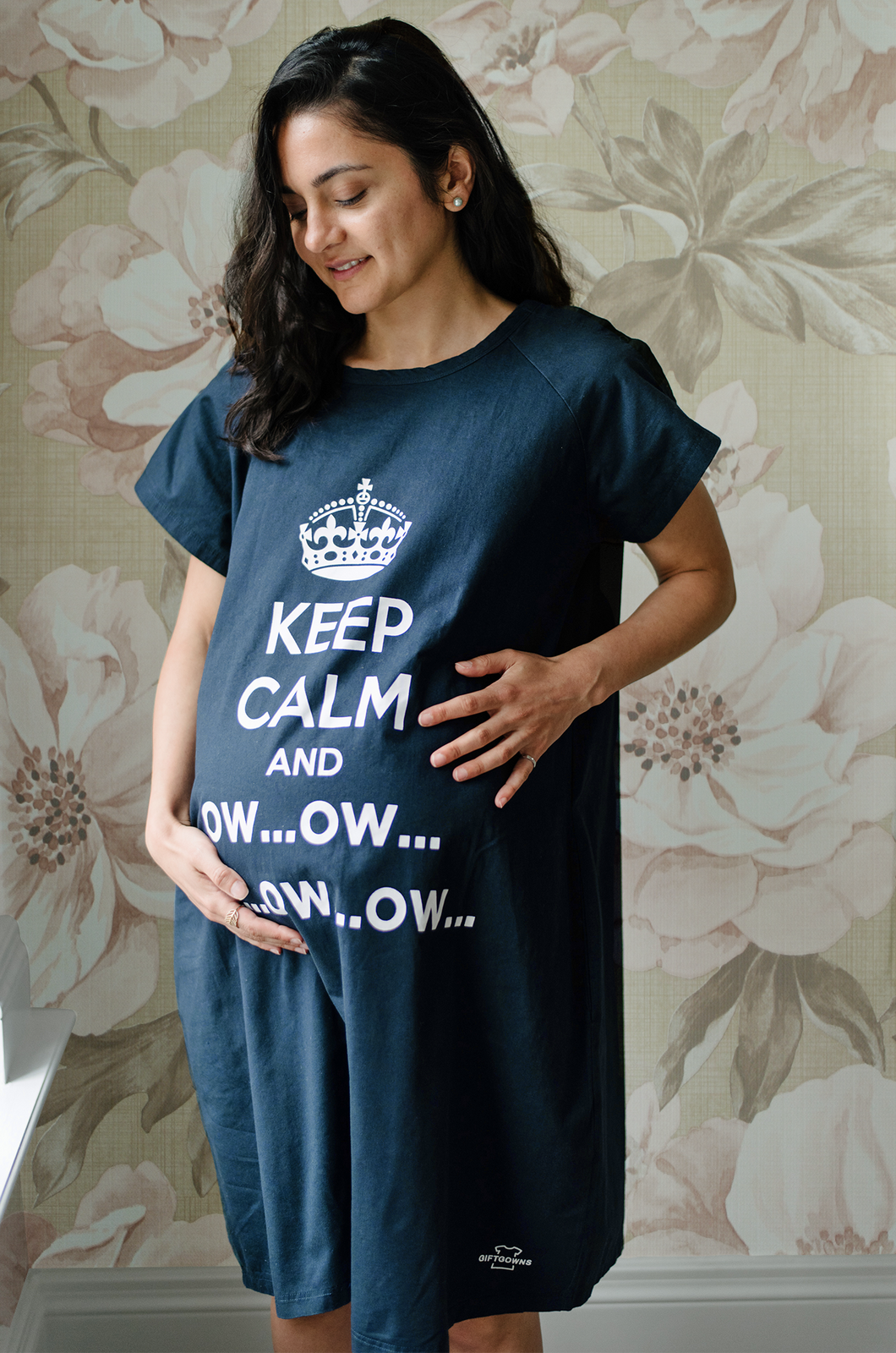 Keep Calm and Ow (Navy)