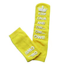 Load image into Gallery viewer, Keep Calm and Ow Socks