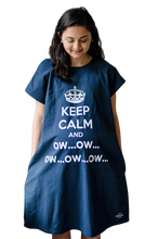 Load image into Gallery viewer, Keep Calm and Ow (Navy)