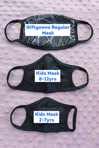 Vampire Kids Face Masks