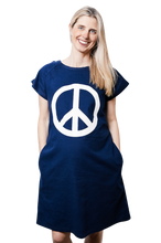 Load image into Gallery viewer, Peace Sign (Navy)