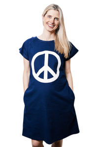 Peace Sign (Navy)