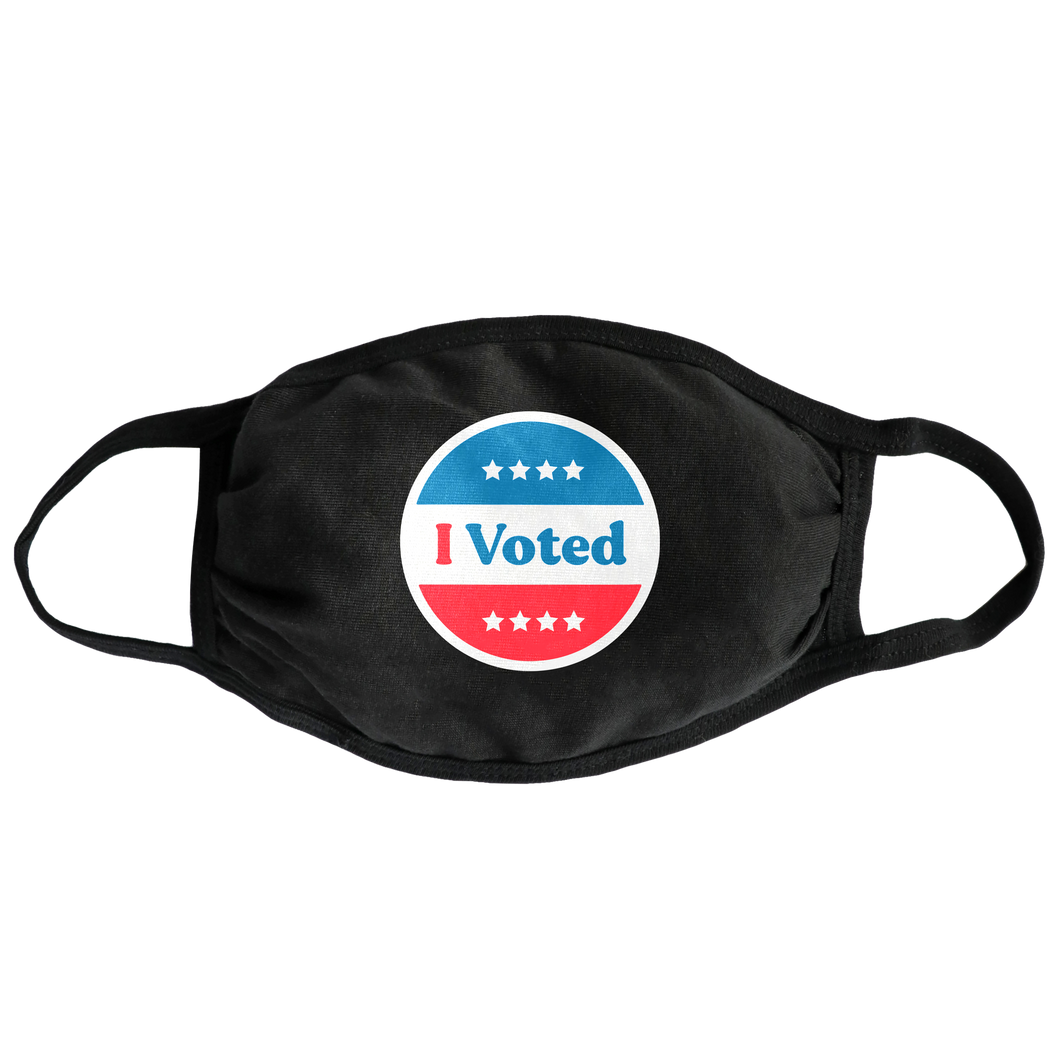 I Voted Face Mask