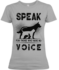Speak for Dog and Cat Shirt