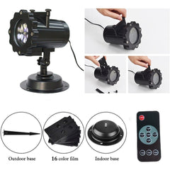 LED Outdoor Rotating Projector