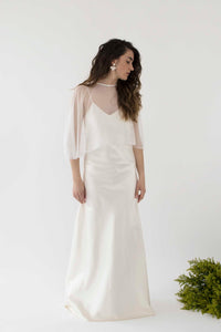 Niihau Slip Wedding Dress
