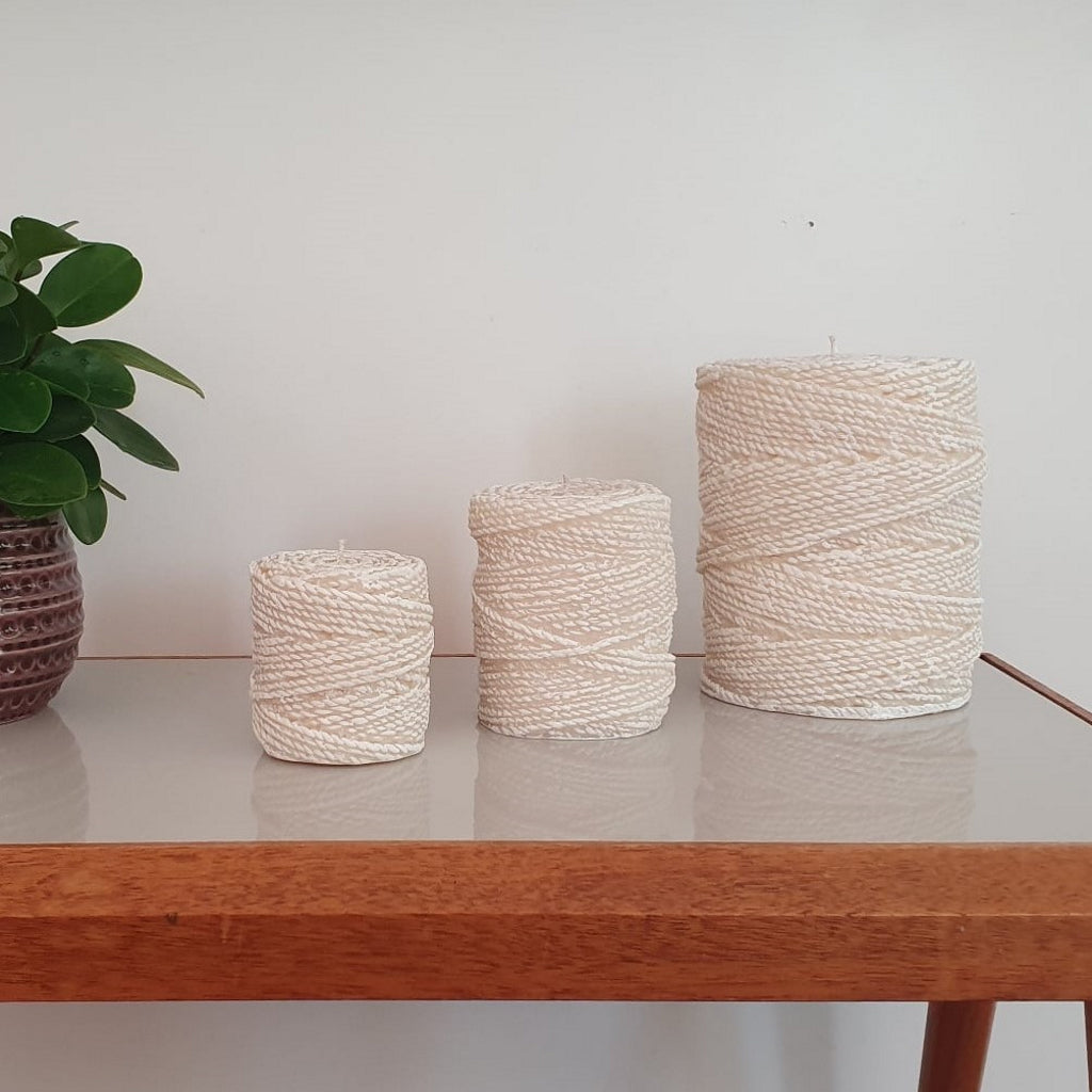 Natural Light Candle Co Twine Candles
