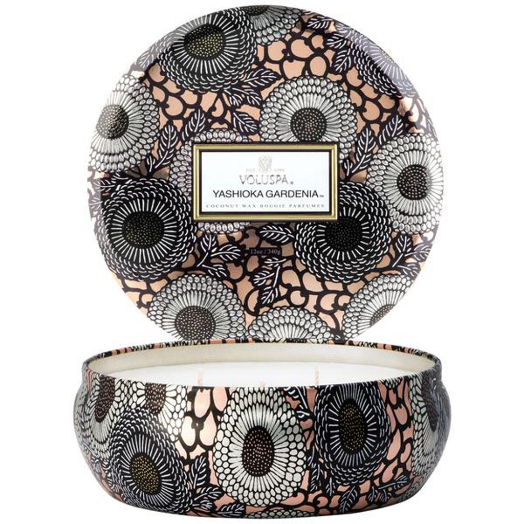 Voluspa  decorative tin candle