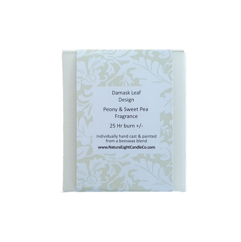 Natural Light Candle Co Damask Candles