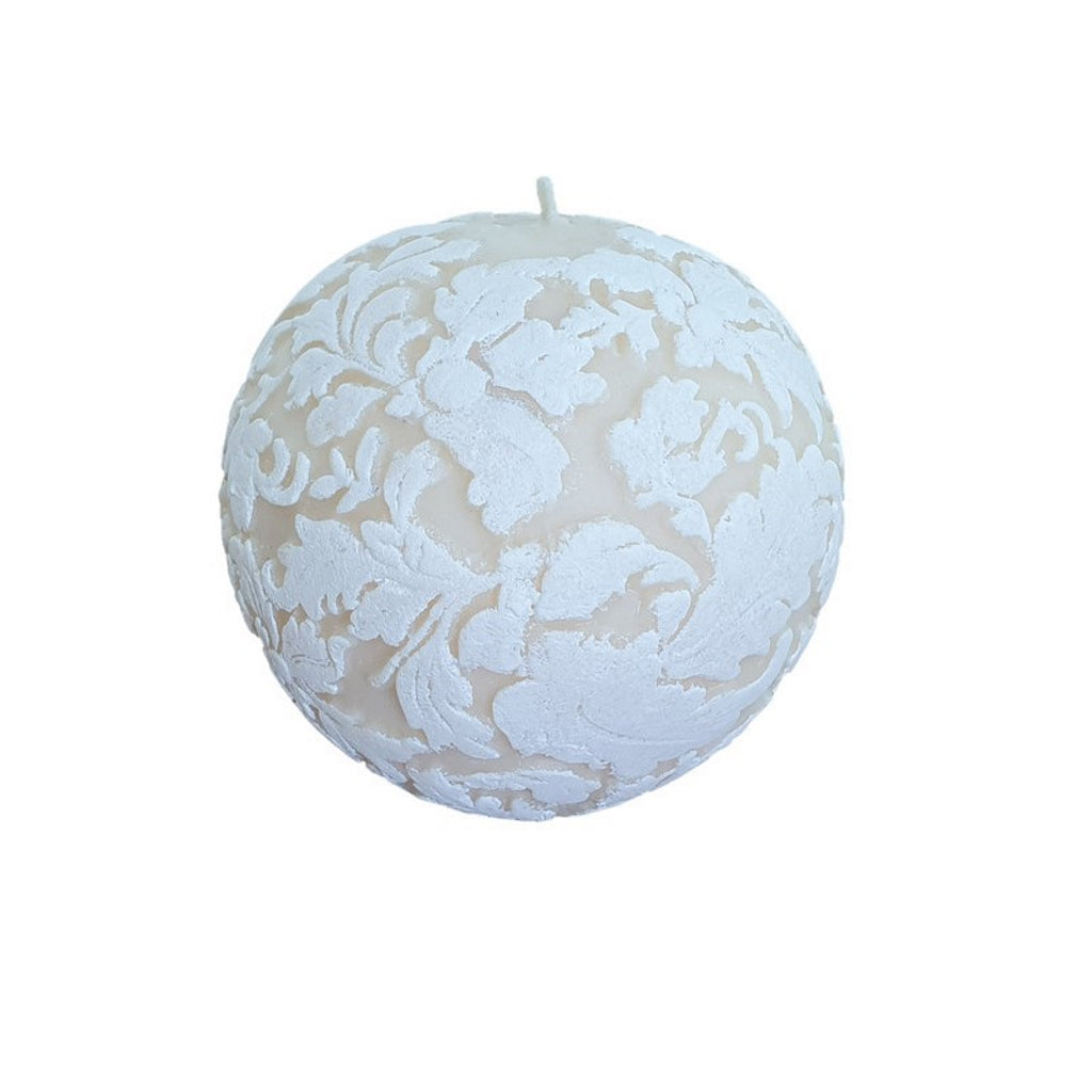 natural light company damask sphere candle