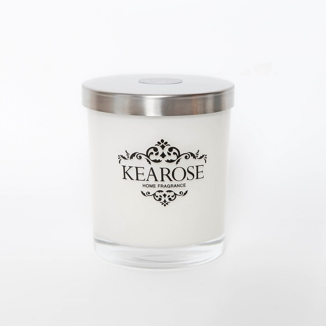 Kearose Candle White Jar