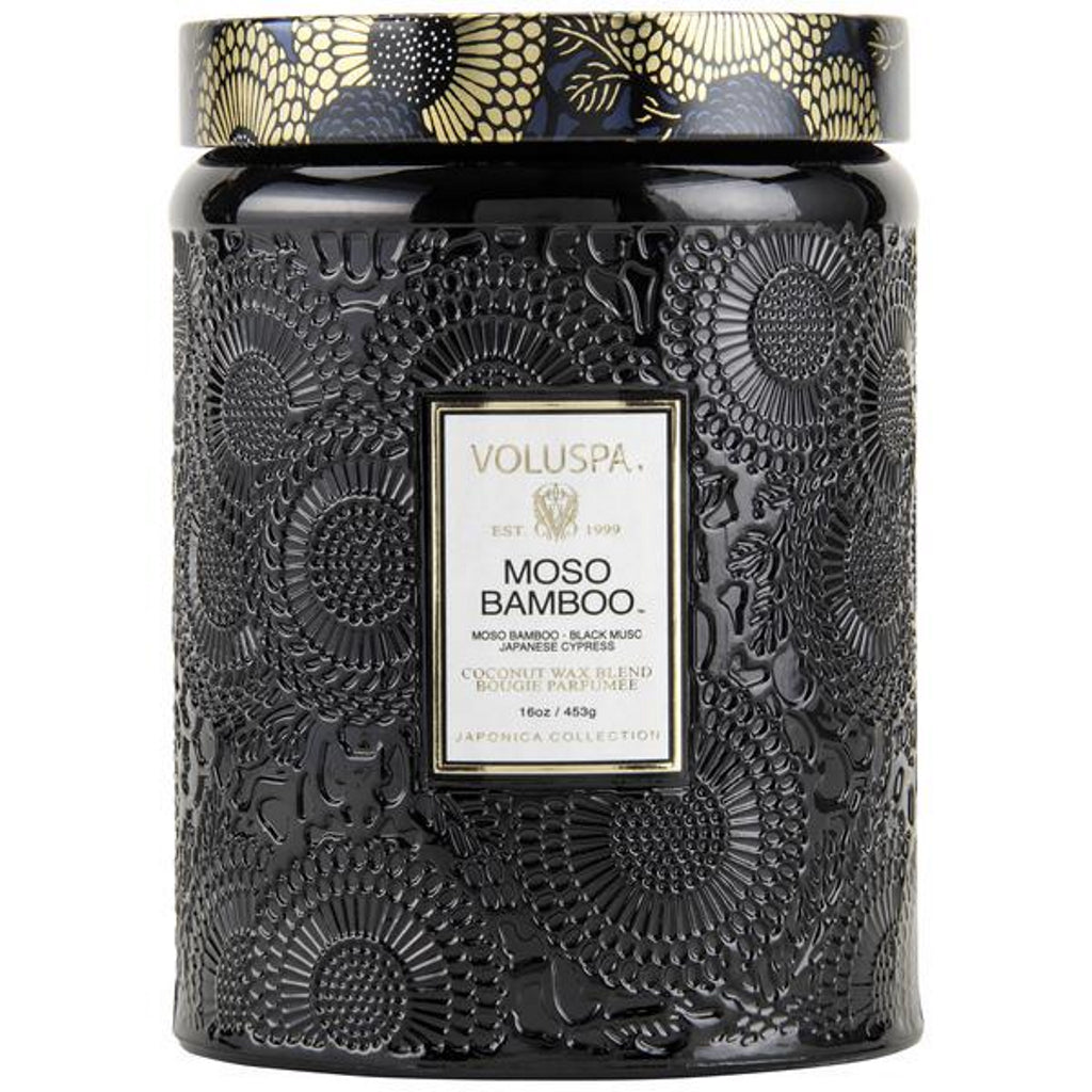 Voluspa Large Embossed Candle