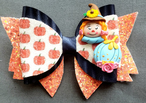 The Sweetest Scarecrow Bow