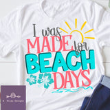 Made For Beach Days Tee