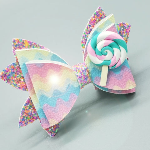 Boardwalk Candy Shop Bow