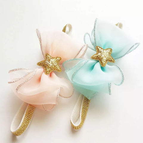 Starfish Bow Headband