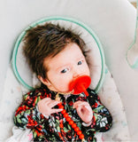 Festive Medical Grade Silicone Natural Pacis