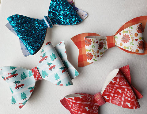Holiday Bows 4
