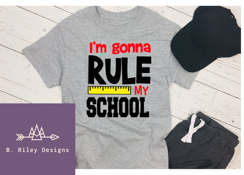 Rule The School - Boys Tee