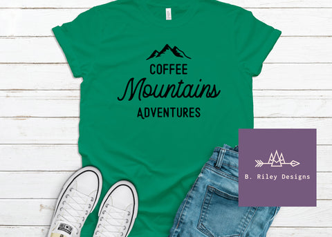 Coffee, Mountains, Adventures.