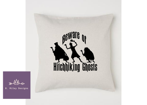 Beware.. GHOSTS!  Pillow Cover