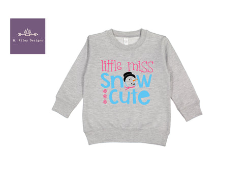Snow Cute Crewneck