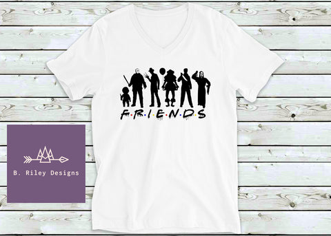 We're All Friends Here - Tee (Women's/Mens)