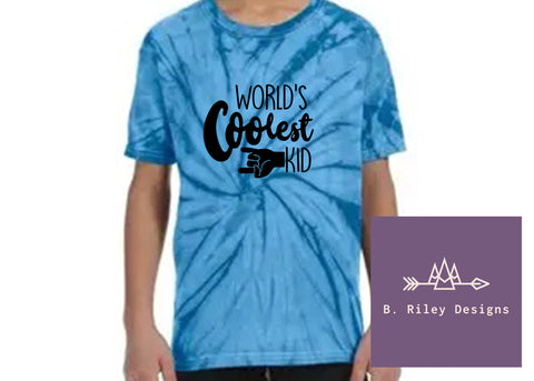 World's Coolest Kid Tee