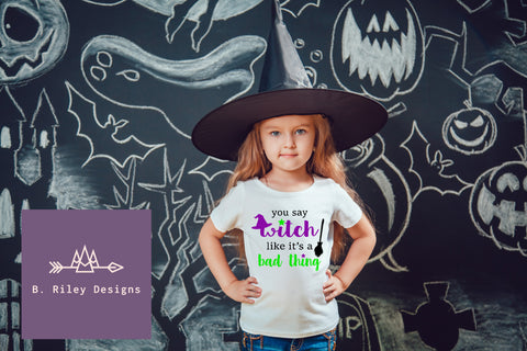 You Say Witch... Kid's Tee