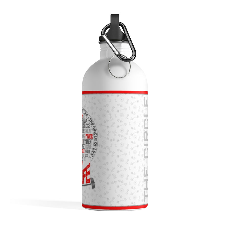 The Circle of Gym My Life Stainless Steel Water Bottle
