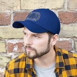 Never Quit Never Give Up Unisex Twill Embroidery Hat