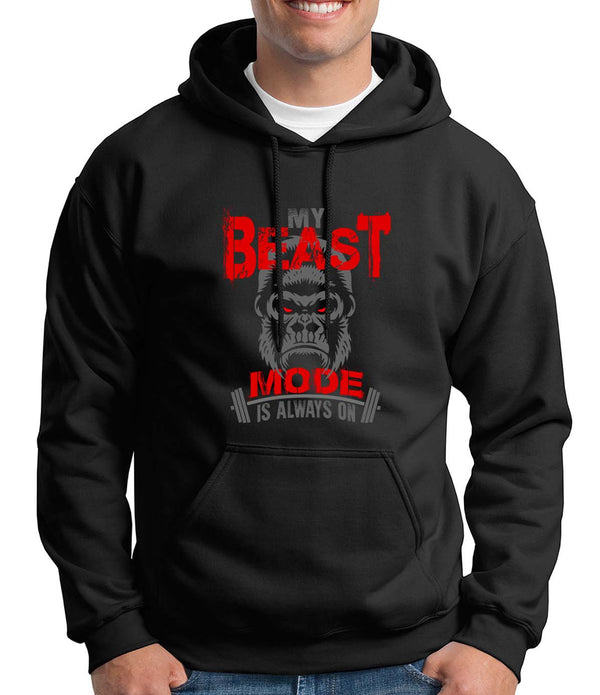 My Beast Mode is Always On Hoodie - Dark Colors