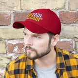 No Pain No Gain Unisex Twill Embroidered Hat