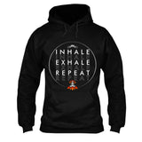 Inhale Exhale Repeat Yoga T-Shirt