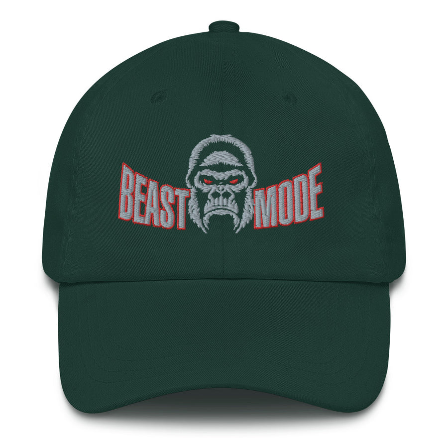 Beast Mode Unisex Twill Embroidered Hat