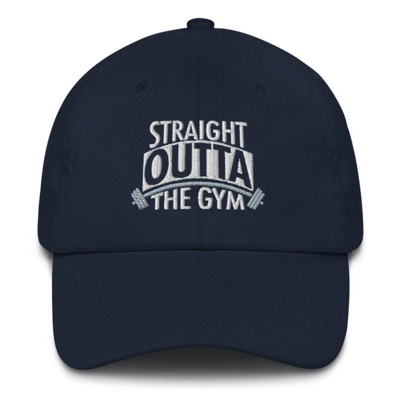Straight Outta The Gym Unisex Twill Embroidered Hat